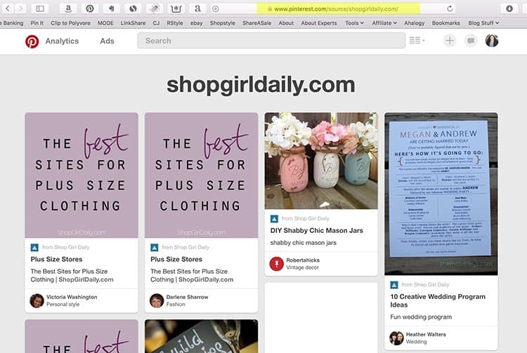 How to see what people are pinning from your blog   Oh, She Blogs!