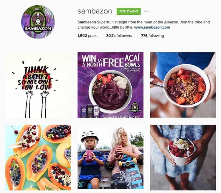 Sambazon on Instagram