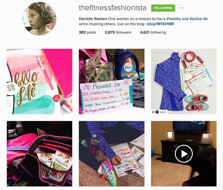 The Fitness Fashionista provides a lot of value to her Instagram followers