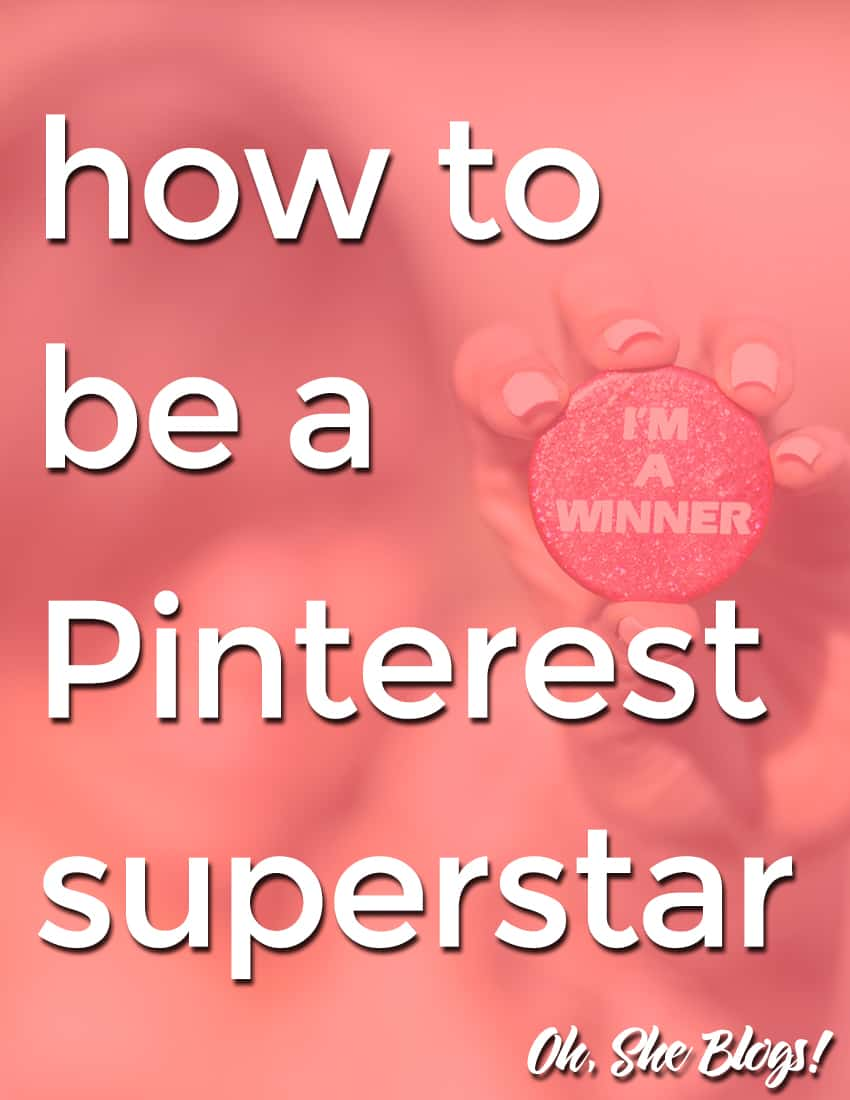 How to be a Pinterest Superstar: Read our Pinfinite Growth review to find out how this system will start bringing mega traffic to your blog | Oh, She Blogs!