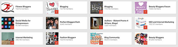Use Google+ Communities to promote your blog posts for free!