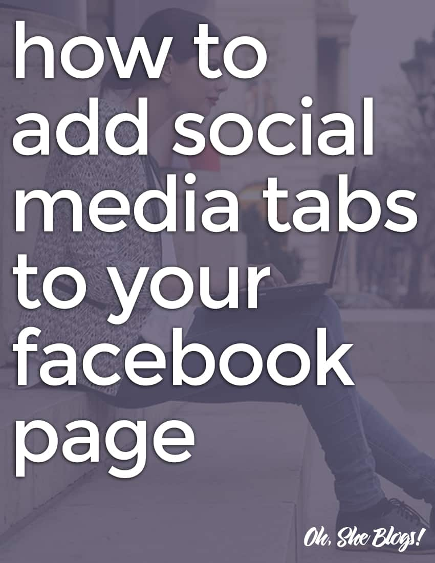 How to Add Social Media Tabs to Your Facebook Page