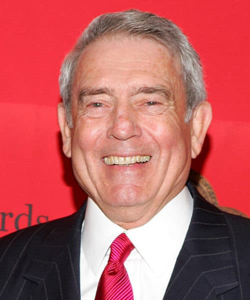 Dan Rather's Facebook Page is incredibly popular