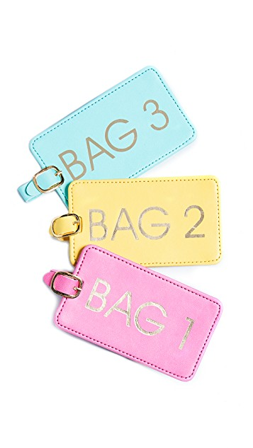 Chic Luggage Tags