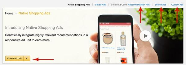 Setting up Amazon Native Shopping Ads