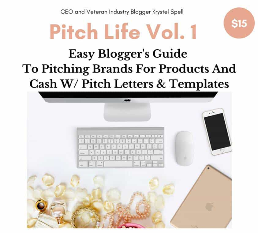 The Blogger's Guide to Pitching Brands for Products and Cash