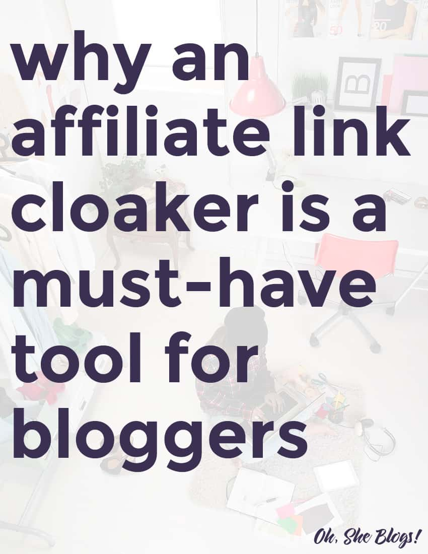 Why an affiliate link cloaker is a must-have tool for bloggers | ShopGirlDaily.com