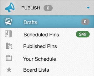Scheduling Pins with Tailwind