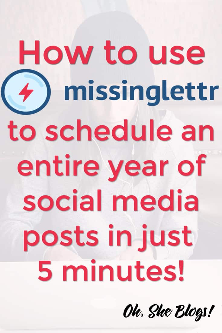 MissingLettr is the Coschedule alternative you've been looking for   Oh, She Blogs!