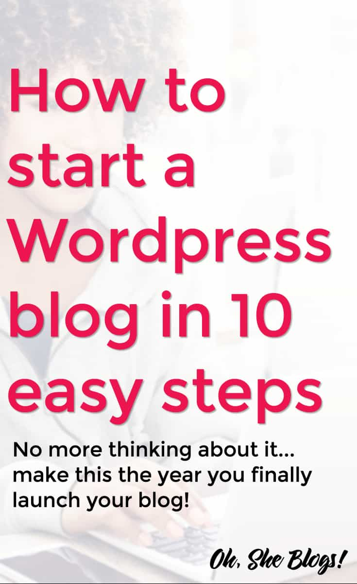 How to start a WordPress Blog in 10 easy steps | ShopGirlDaily.com
