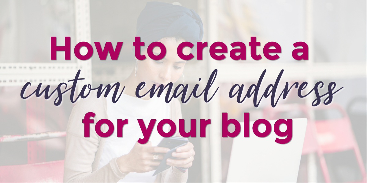 How to create a custom email address in SiteGround | Oh, She Blogs!
