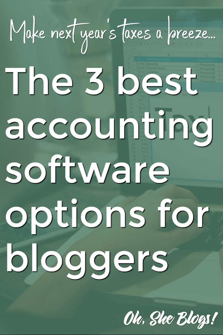 Online accounting software for bloggers | Oh, She Blogs!