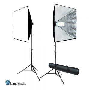 artificial lighting kit for food photography