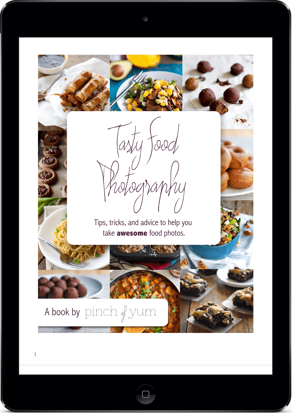 Pinch of Yum Tasty Food Photography ebook